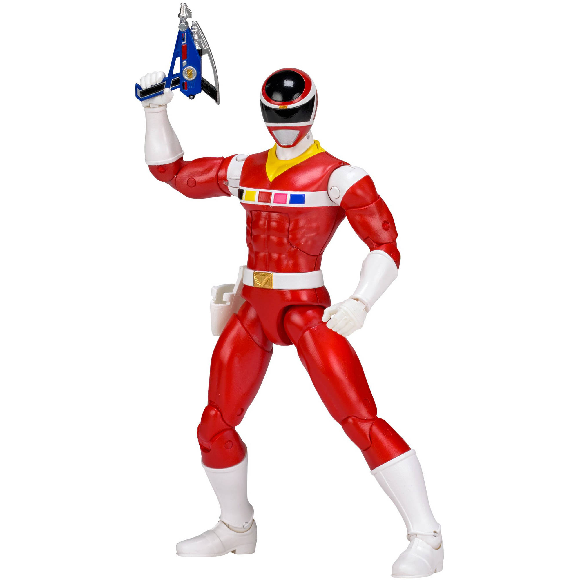 Power Rangers Legacy Mighty Morphin Movie Red Ranger by Bandai America
