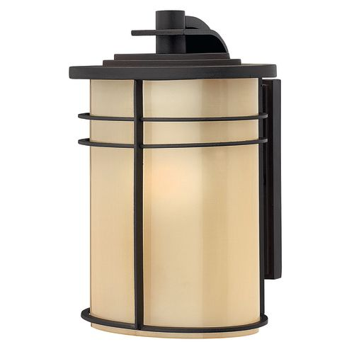 """Hinkley Lighting H1120 1-Light 10.5"""" Tall Lantern Outdoor Wall Sconce from the Ledgewood Collection"""
