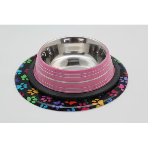 Andreas Silicone Trivets Color Paws Trivet by