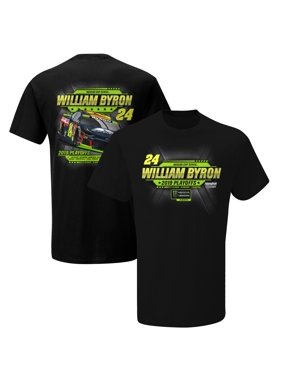 William Byron 2019 Monster Energy NASCAR Cup Series Playoffs T-Shirt - Black