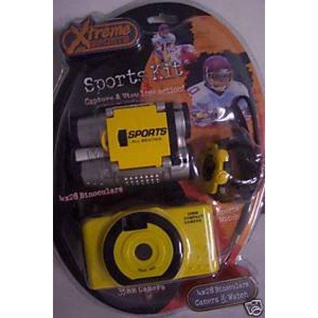 Extreme Sports Kit 4x28 Binoculars 35mm Camera & Watch, By Sakar Ship from US