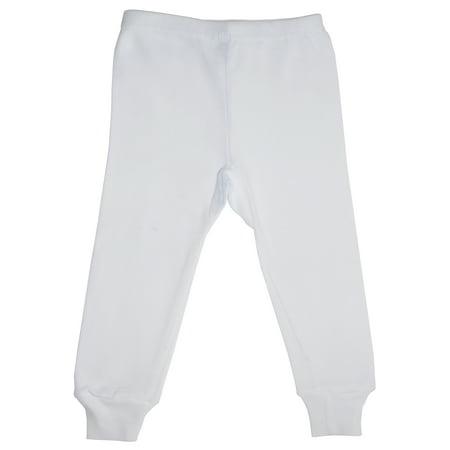 Bambini White Long Pants - Idee Costumi Halloween Bambini