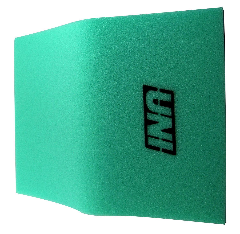 """BF1 12"""" X 16"""" X 5/8"""" 65-PPI Green Fine Foam, hi foam Black SHEET BULK 12in FOAM Manufacturer FOA FINE 12x16x58 flow 12 58 16 Air Bulk 1 Part 65PPI 12X16X58.., By Uni Filter"""