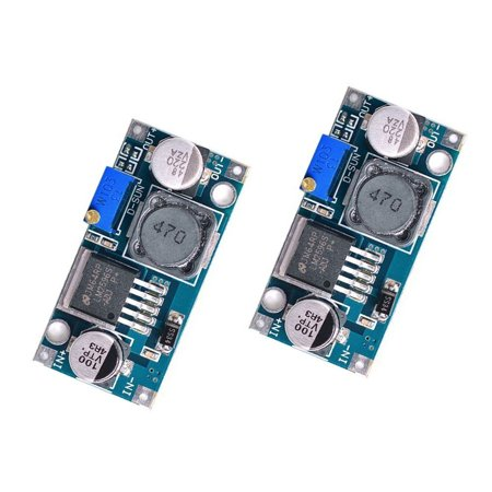 Eeekit 2 Pack Lm2596 Dc To Dc Buck Converter  Input 3 2V 40V To Output 1 25V 35V Adjustable Power Supply Step Down Module
