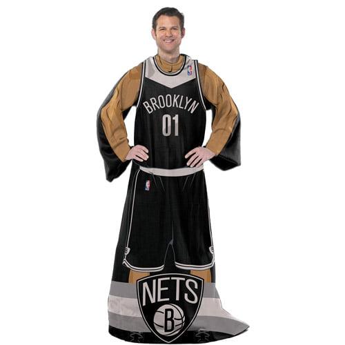"""NBA Player 48"""" x 71"""" Comfy Throw, Nets"""