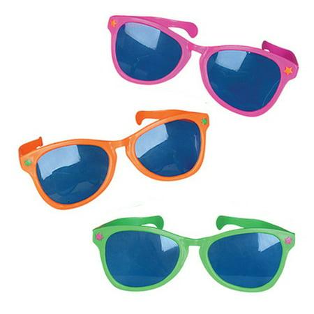 Jumbo Plastic Sunglasses for $<!---->