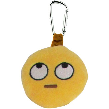 Emoji Backpack Clip, Eye Roll Roll One Eyes