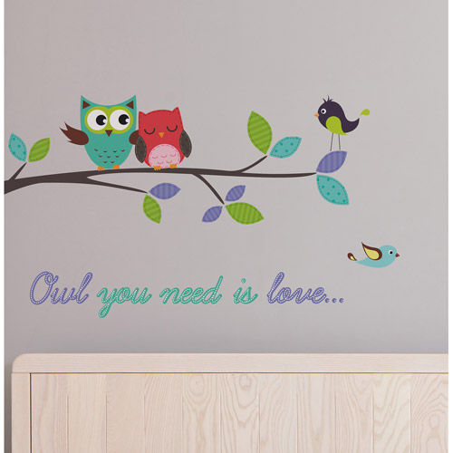 "Click here to buy Home Decor Line ""Owl You Need is Love"" Decals by Generic."