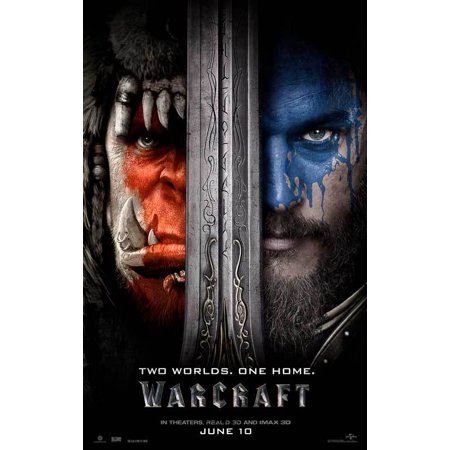 Warcraft  2016  27X40 Movie Poster
