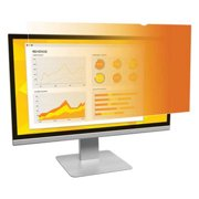 """3M 21.5"""" Gold Privacy Filter for Widescreen Monitor, Gold"""