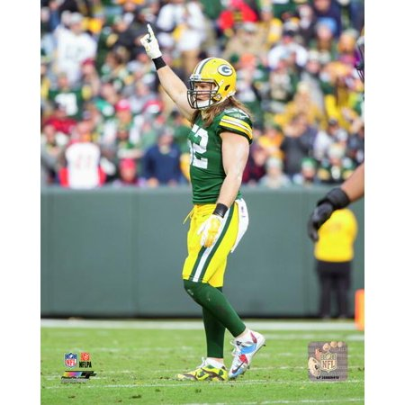Clay Matthews 2017 Action Photo Print](Clay Matthews Halloween)