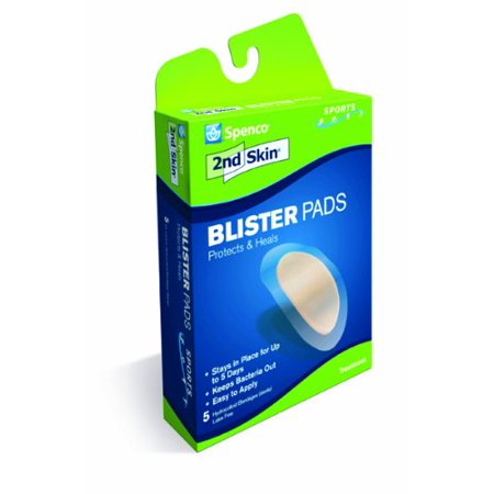 3 Pack Spenco 2nd Skin Sports Blister Pads 5 count Each 2nd Skin Sport Blister Pads