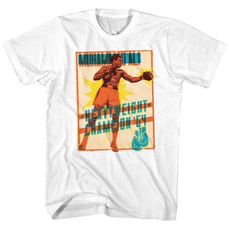 Muhammad Ali- Heavyweight Stamp Apparel T-Shirt -