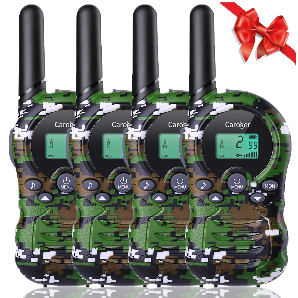 Toy Walkie Talkies for Kids , 22 Channel Walkie Talkies Two-way Radio Long Range 2 Miles FRS/GMRS Handheld Mini Walkies Talky for Outdoor Camping/Hunting/Fish