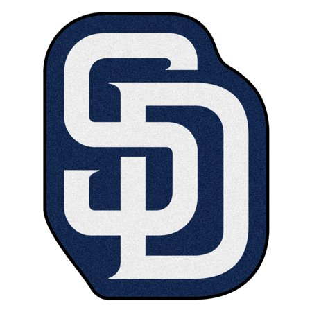 MLB - San Diego Padres Mascot Mat (San Diego State University Colors And Mascot)
