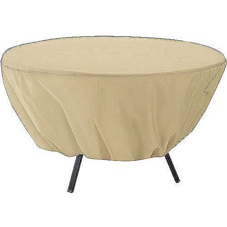 Classic Accessories Terrazzo Round Patio Table Furniture Storage Cover, fits up to 50