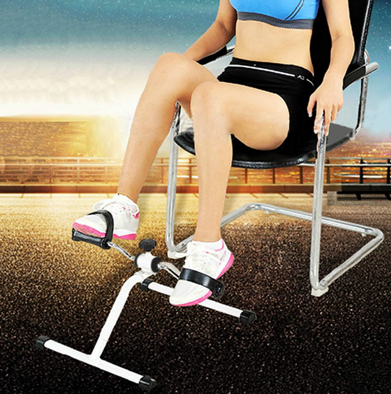 Mini Pedal Exerciser Arm Leg Exercise Machine Physical Therapy Pedal Cycle Exercise Bike SPTE