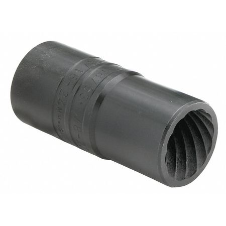 SK PROFESSIONAL TOOLS 852 Socket,3 8 in. Dr,11 16 in. Turbo G3978834 by SK PROFESSIONAL TOOLS