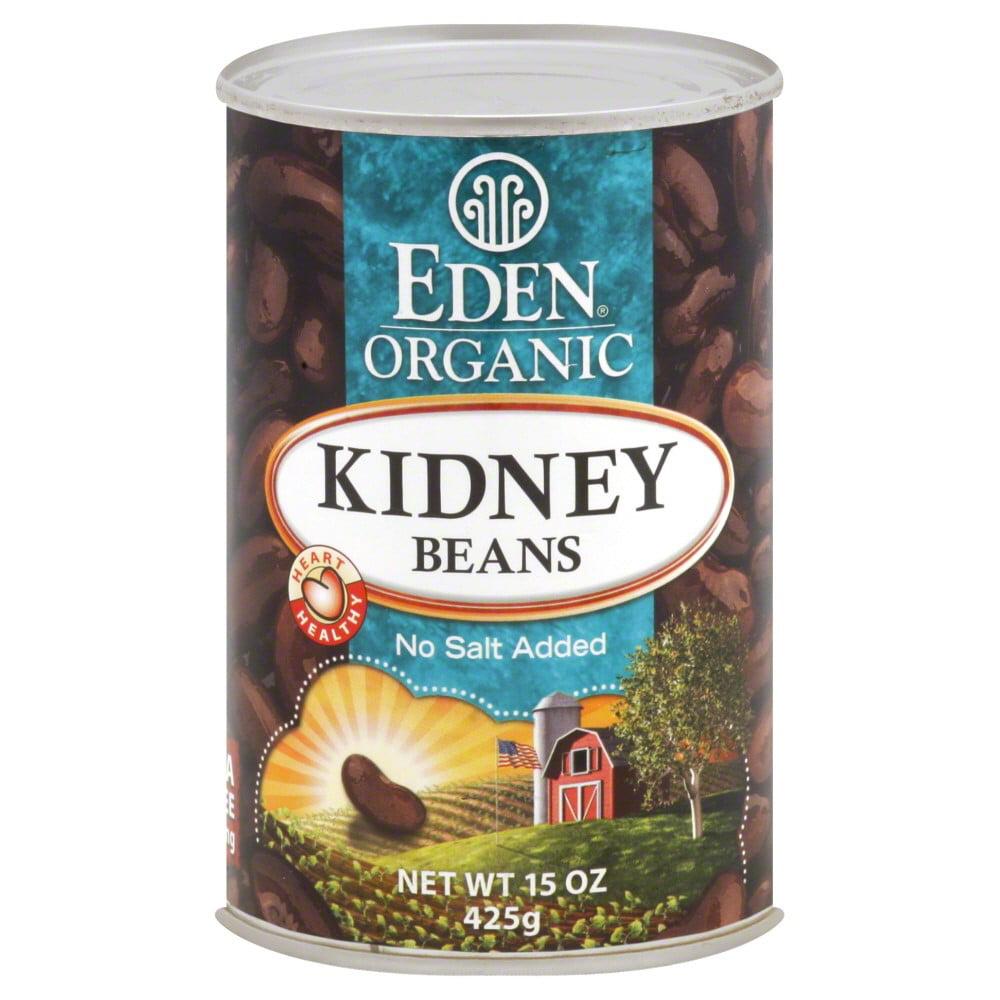 Eden Organic Kidney Beans, No Salt Added, 15 Oz