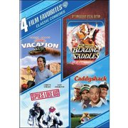 4 Film Favorites: Classic Comedies: Blazing Saddles   National Lampoon's Vacation   Spies Like Us   Caddyshack... by WARNER HOME VIDEO