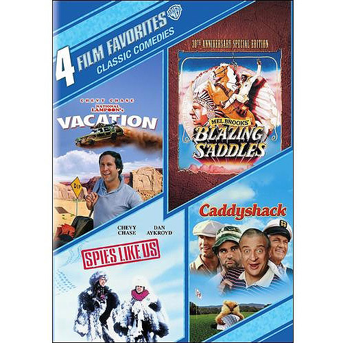 4 Film Favorites: Classic Comedies: Blazing Saddles / National Lampoon's Vacation / Spies Like Us / Caddyshack (Widescreen)