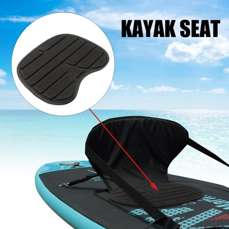 - Black Comfortable Soft Padded Seat Cushion For Kayak Canoe Fishing Drift Boat
