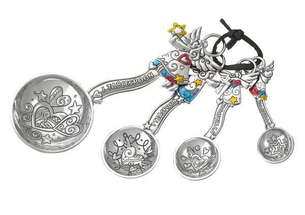 Angel Theme Measuring Spoon Ganz 4 Piece Measuring Spoons by