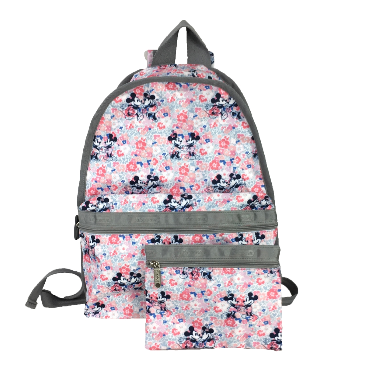 Lesportsac x Disney Minnie Mouse Basic Backpack, Spring F...