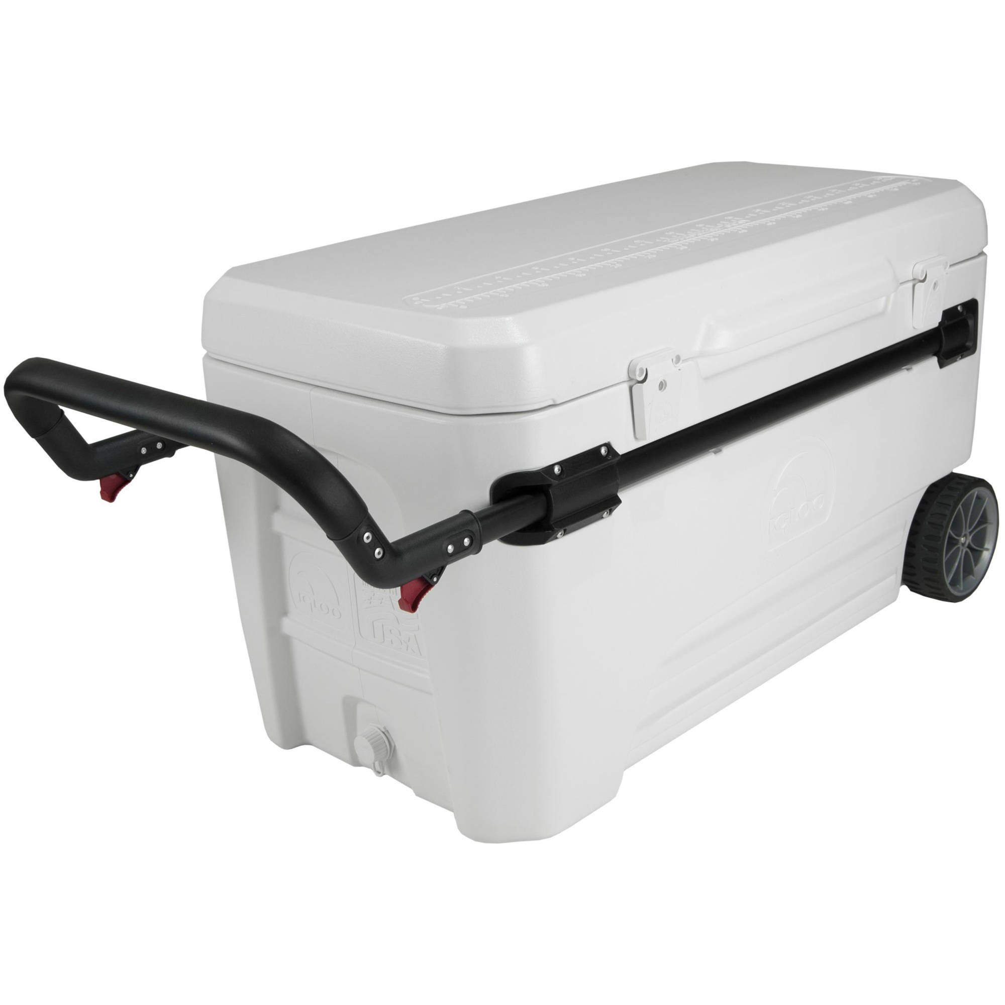 Igloo 45184 Glide Pro Cooler 110-Quart White