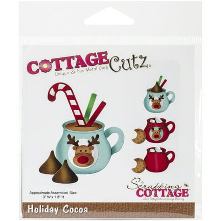 Cottagecutz Dies (CottageCutz Die, Holiday Cocoa, 3