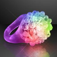 FlashingBlinkyLights Soft Bubble Rings (Set of 24)