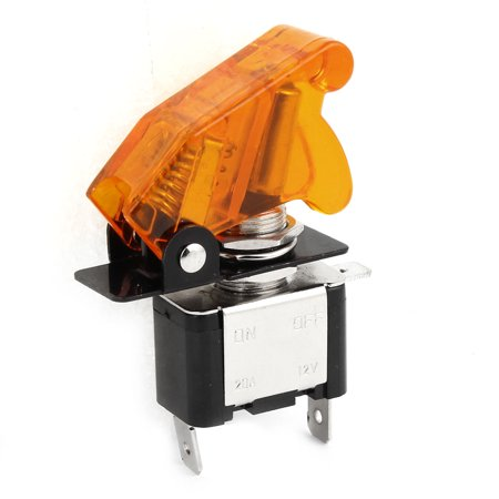 - Auto DIY Orange  Illuminated SPST Racing Toggle ON/OFF Switch DC 12V 20A