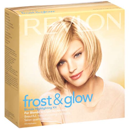 Frost glow blonde highlighting kit blonde to light brown hair frost glow blonde highlighting kit blonde to light brown hair revlon 1 application hair color pmusecretfo Choice Image
