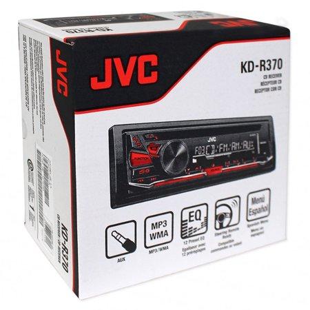 Kenwood Kdr 370 In Dash 1 Din Front Usb Cd Am Fm Car Stereo Receiver
