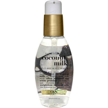 OGX Nourishing + Coconut Milk Anti-Breakage Serum, 4.0 FL