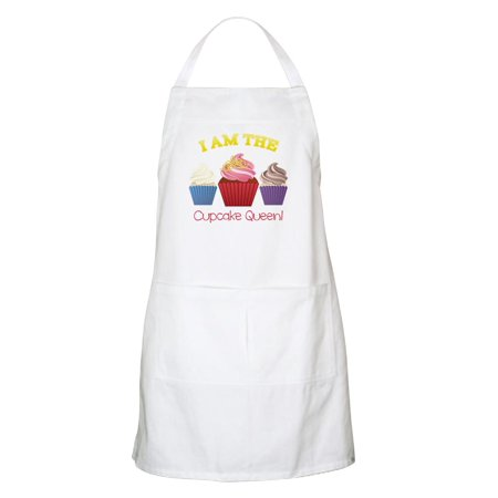 CafePress - I Am Cupcake Queen Apron - Kitchen Apron with Pockets, Grilling Apron, Baking Apron - Cupcake Queen