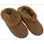 Amerileather Sheepskin Low-top Slippers