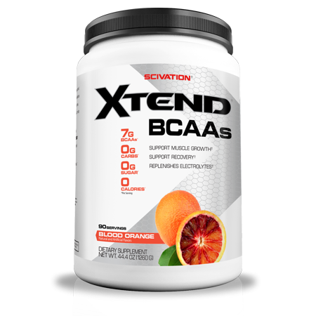 Scivation Xtend BCAA Powder, Blood Orange, 90