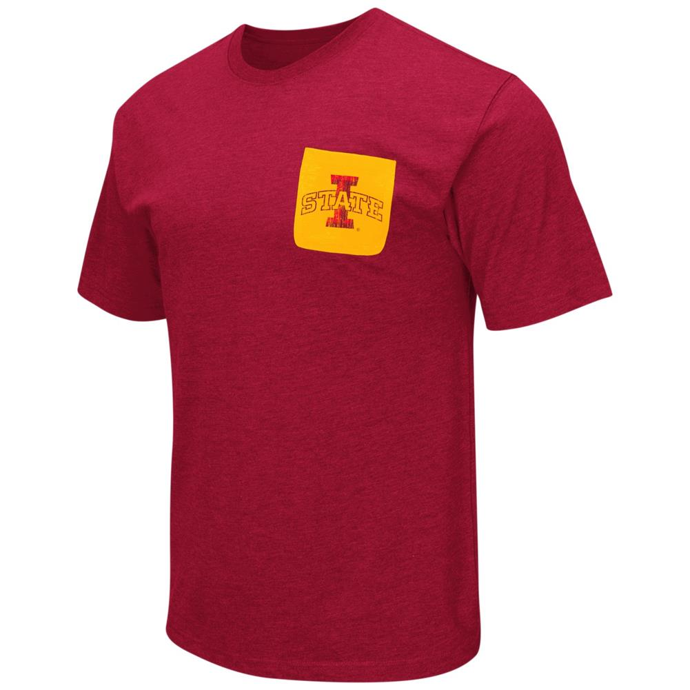 Iowa State Cyclones Men's T-Shirt with Pocket
