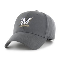 sale retailer 5a1e4 2ff3a Product Image Fan Favorite MLB Basic Adjustable Hat, Milwaukee Brewers