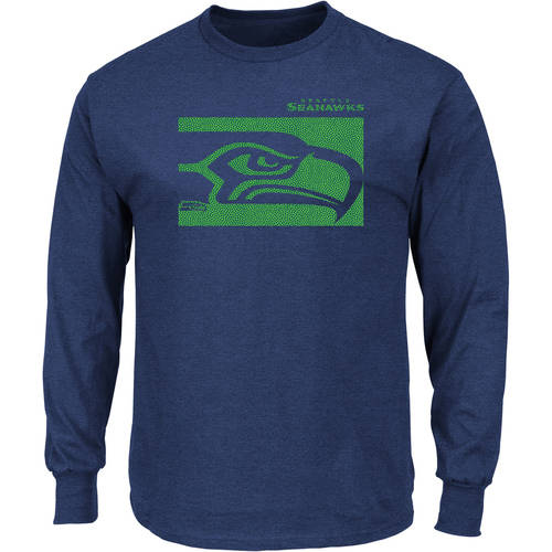 NFL Seattle Seahawks Men's Big and Tall Long Sleeve Tee
