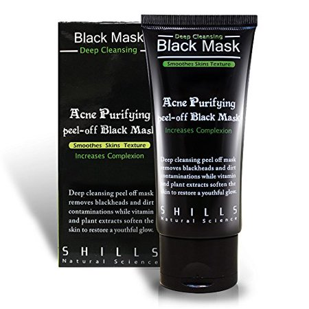 shills purifying black peel off mask facial cleansing. Black Bedroom Furniture Sets. Home Design Ideas