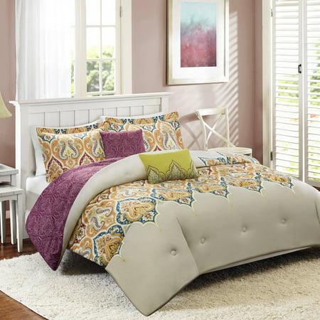 better homes and gardens kashmir 5 piece bedding comforter set
