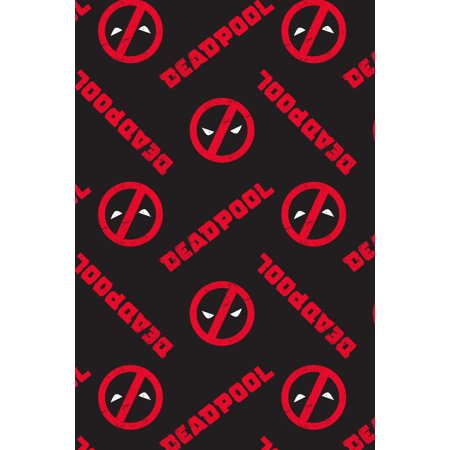 Marvel Mens Deadpool Logo All Over Print Pajama Pants Medium Walmart Canada