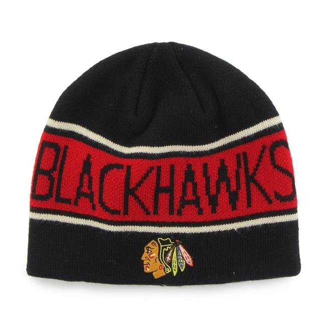 Fan Favorites H-MBNVL04ACE-BK NHL Chicago Blackhawks Mass Bonneville Cap, Black - One Size