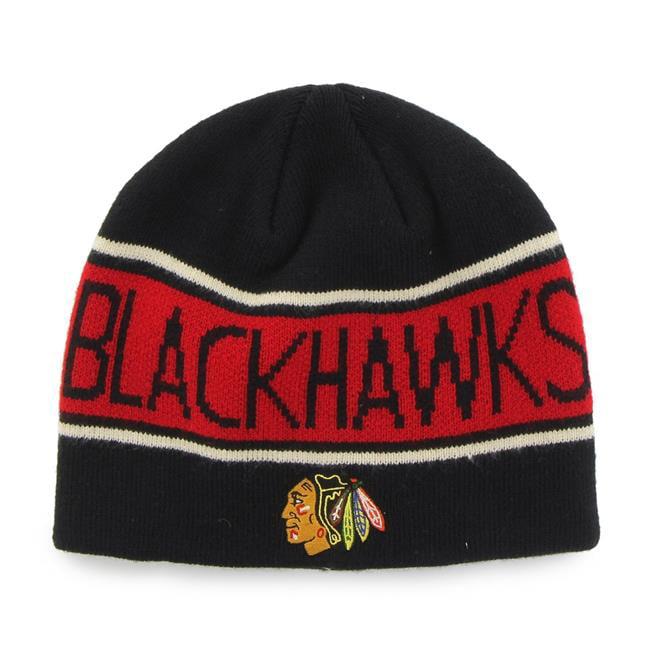 Fan Favorites H-MBNVL04ACE-BK NHL Chicago Blackhawks Mass Bonneville Cap, Black - One Size