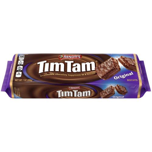 Tams Near Me >> Arnott S Tim Tam Original Cookies 7 Oz Tray Walmart Com