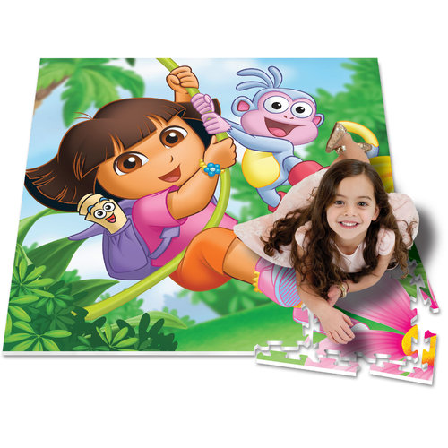 4' v 4' Activity Play Mat, Dora the Explorer