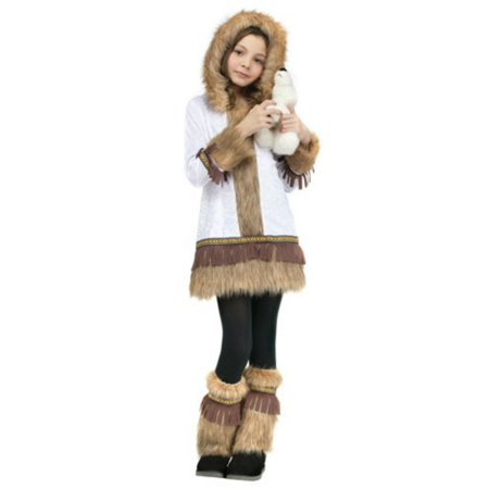 Fun World Little Girls Halloween Costume Eskimo Costume - Fun Halloween Costumes For Girls