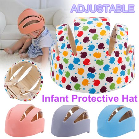 Baby Adjustable Safety Helmet Children Headguard Infant Protective Harnesses Cap Child Hat